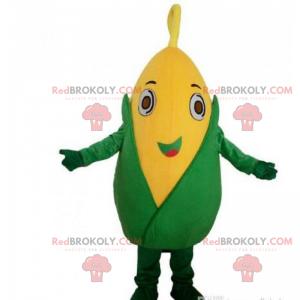 Corn Epi Maskottchen mit großen Augen - Redbrokoly.com