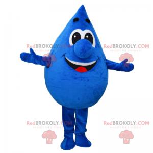 Uśmiechnięta maskotka kropli wody - Redbrokoly.com