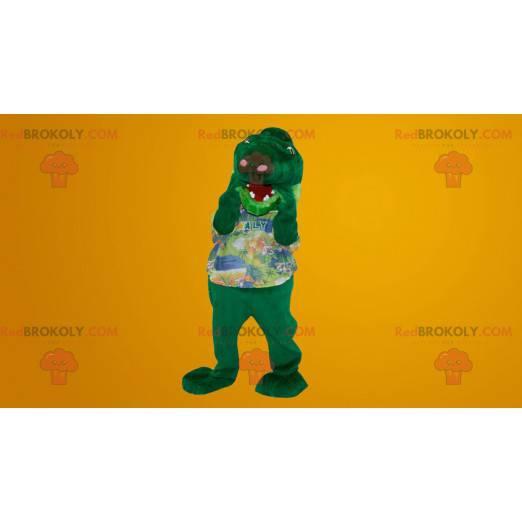 Crocodile dinosaur snake mascot - Redbrokoly.com