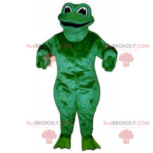Lächelndes Froschmaskottchen - Redbrokoly.com