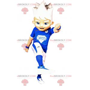 Fußballspieler Maskottchen - Redbrokoly.com