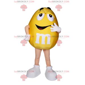 M & Ms žlutý maskot - Redbrokoly.com