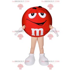 M & Ms Red Mascot - Redbrokoly.com