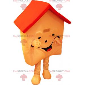 Oranžový dům maskot - Redbrokoly.com