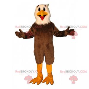 Lächelndes Adler-Maskottchen - Redbrokoly.com