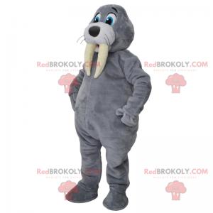 Orca mascot - Redbrokoly.com