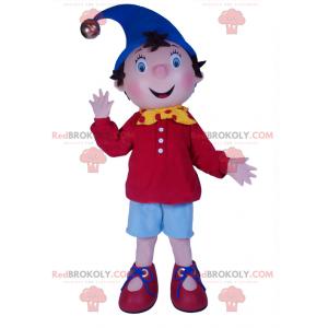 Noddy maskot - Redbrokoly.com