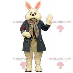 Alice im Wunderland Charakter Maskottchen - White Rabbit -