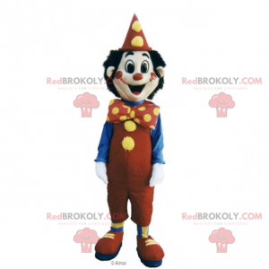 Circus character mascot - smiling clown - Redbrokoly.com
