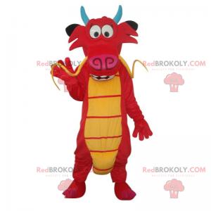 Mulan Charakter Maskottchen - Mushu - Redbrokoly.com