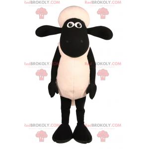 Mascota del personaje de la oveja Shaun - Redbrokoly.com