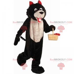 Maskot postavy Červená Karkulka - Zlý vlk - Redbrokoly.com