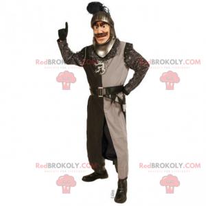 Historisk karakter maskot - Ridder - Redbrokoly.com