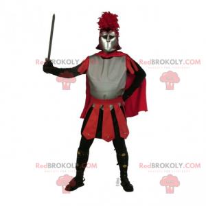 Historisk karakter maskot - King's Knight - Redbrokoly.com
