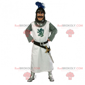Mascotte personaggio storico - Cavaliere tavola rotonda -