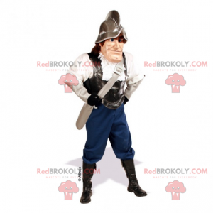 Historyczna maskotka postaci - Gladiator - Redbrokoly.com