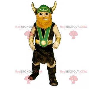 Maskotka postaci historycznej - żołnierz Wikingów -