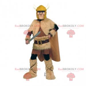 Historical character mascot - Viking - Redbrokoly.com