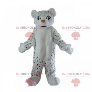 Little black and white leopard mascot - Redbrokoly.com