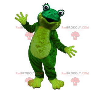 Little frog mascot - Redbrokoly.com