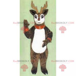 Weihnachts-Rentier-Maskottchen - Redbrokoly.com