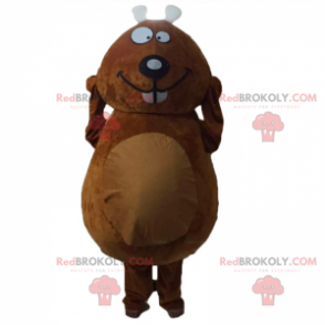 Smiling rodent mask - Redbrokoly.com