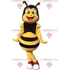 Mascote de abelha - Redbrokoly.com