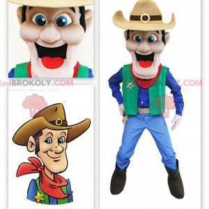 Wild West Cowboy Maskottchen - Redbrokoly.com