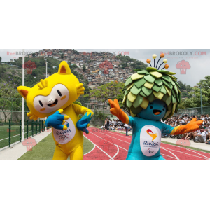 2 Maskottchen der Olympischen Spiele 2016 in Rio -