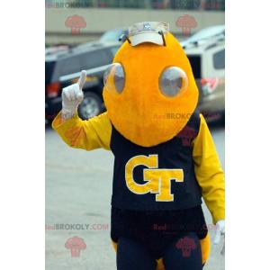 Yellow insect wasp bee mascot - Redbrokoly.com