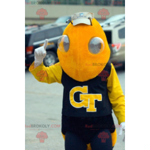 Žlutý včelí maskot včelí maskot - Redbrokoly.com