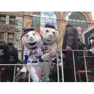 2 baseball mascots - Redbrokoly.com