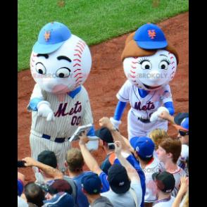 2 maskoti baseballu - Redbrokoly.com