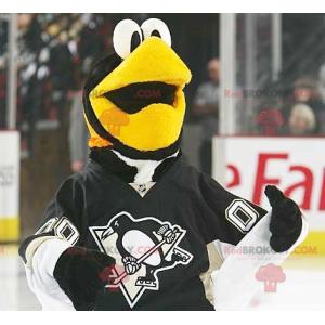 Černá a bílá tučňák pták maskot - Redbrokoly.com
