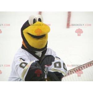 Black and white penguin bird mascot - Redbrokoly.com