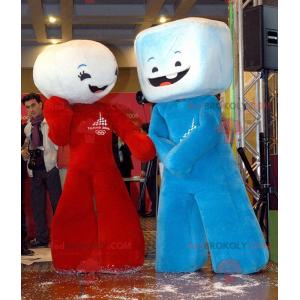 2 maskotki ptasie mleczko z kostek cukru - Redbrokoly.com