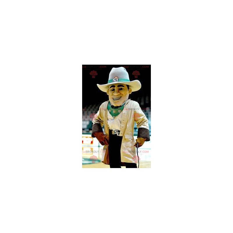 Wild West cowboy mascot - Redbrokoly.com