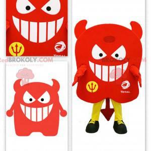 Všechny červené ďábel maskot - Redbrokoly.com