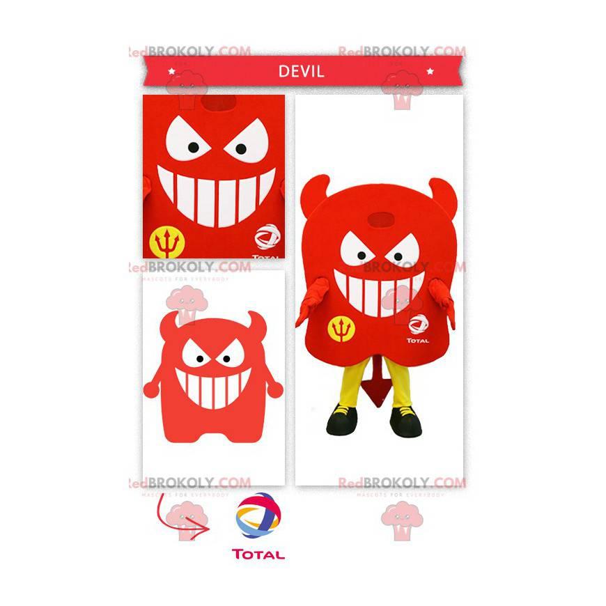 All red devil mascot - Redbrokoly.com