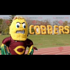 Giant corn ear mascot - Redbrokoly.com