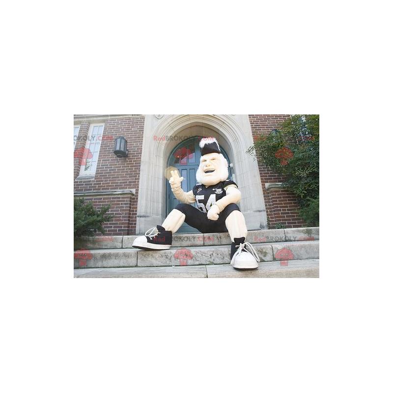 British man mascot in sportswear - Redbrokoly.com