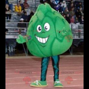 Obří artyčok zelené zelí maskot - Redbrokoly.com
