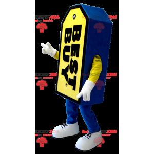 Modré a žluté maskot Best Buy obří štítek - Redbrokoly.com