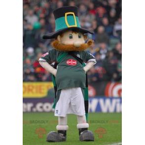 Irish red man mascot - Redbrokoly.com