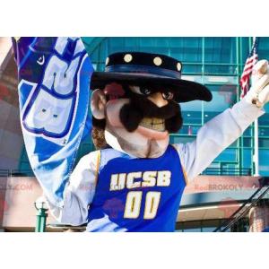 Mexican Cowboy Bandit Mascot - Redbrokoly.com