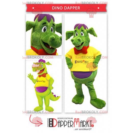 Fargerik dinosaur maskot - Redbrokoly.com