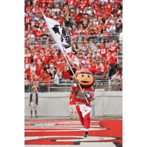 Brutus famous sports mascot - Redbrokoly.com