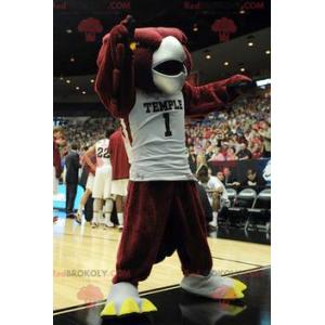 Červený orel pták maskot - Redbrokoly.com