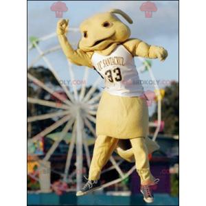 Králík maskot žluté stvoření - Redbrokoly.com