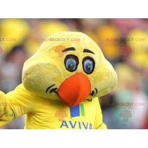 Žluté kuřátko maskot - Redbrokoly.com